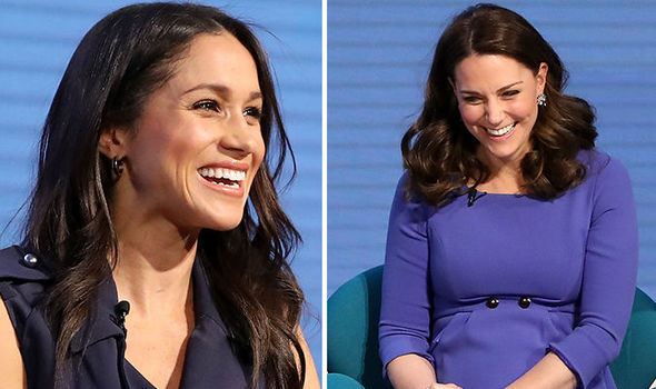 Meghan Markle SPEAKS OUT for women in first Royal engagement with the Duchess of Cambridge
