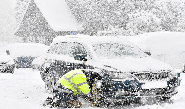 UK snow latest: Make sure your car is fully protected from STORM EMMA with these 10 tips