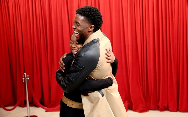 Chadwick Boseman Surprises Passionate Black Panther Fans on Tonight Show