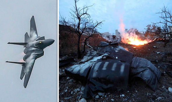 BREAKING: Russian fighter jet SHOT DOWN by rebels in Sarqeb, pilot reported DEAD