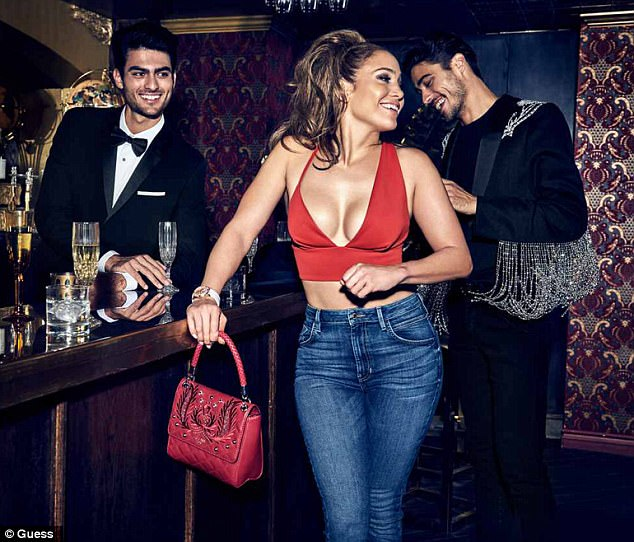 Jennifer Lopez poses up a storm in Guess campaign