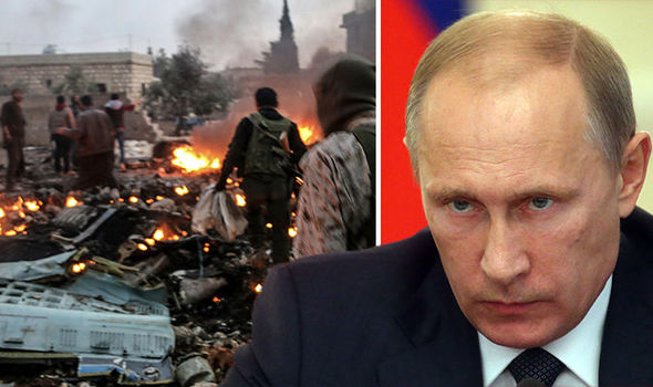 Russia launches HUGE offensive after Syrian rebels shoot down fighter jet and KILL pilot