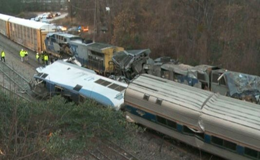 2 dead, 70 injured as Amtrak train collides with freight train in South Carolina