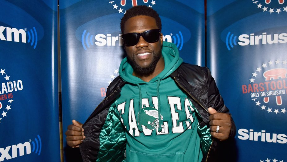 Super Bowl: Kevin Hart Makes Surprise Appearance on NFL Network After Eagles Win