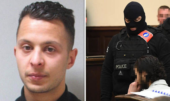 It's my RIGHT to stay silent in court, claims terror suspect Salah Abdeslam