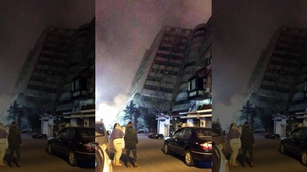 2 killed, more than 140 injured after 6.4 magnitude earthquake strikes Taiwans coast