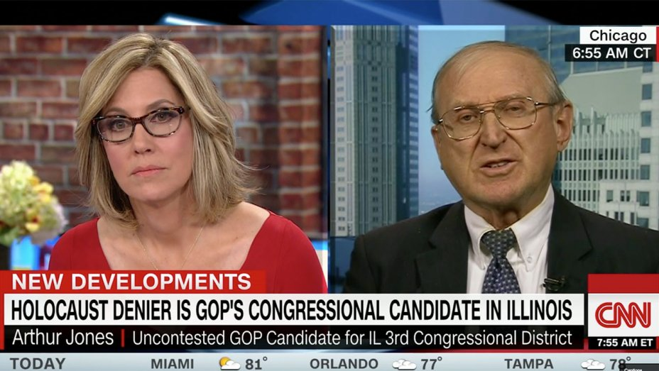 CNN Had Booked Holocaust-Denying Candidate On Multiple Shows
