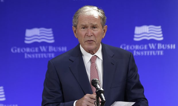 George W. Bush: It's Pretty Clear That Russia Meddled In 2016 Election
