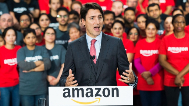 Canadian Prime Minister Justin Trudeau Really Wants Toronto to Get Amazons Second Headquarters