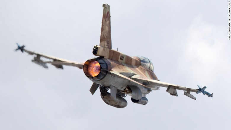 Israeli F-16 jet shot down by Syrian fire, military says