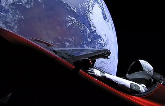 How Elon Musk cleverly used the Starman to promote his car brand (Tesla)