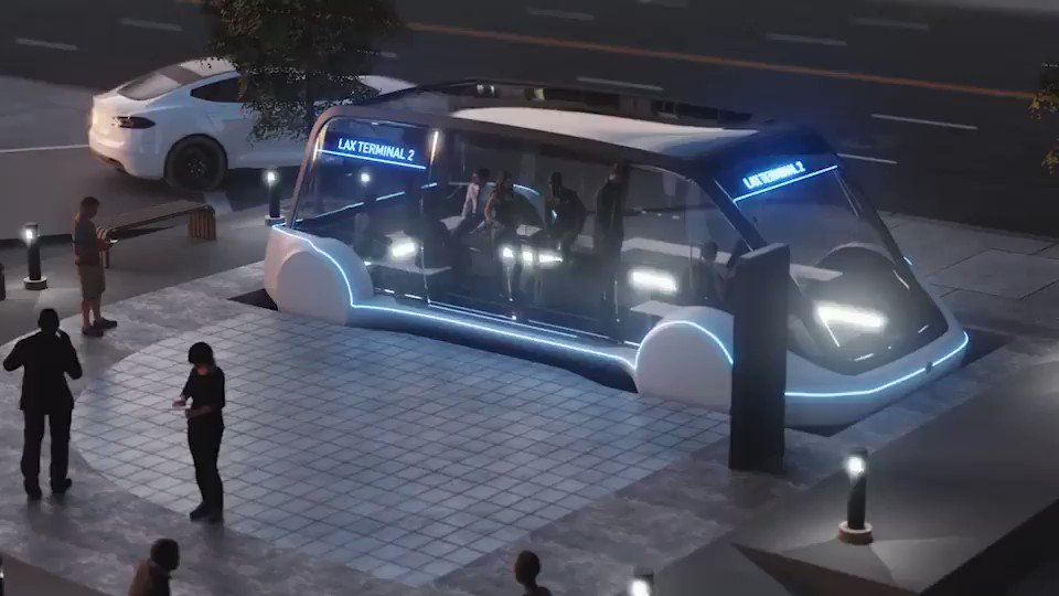 Pedestrians first, Elon Musk declares, tweeting new details of his tunnel-transit dream