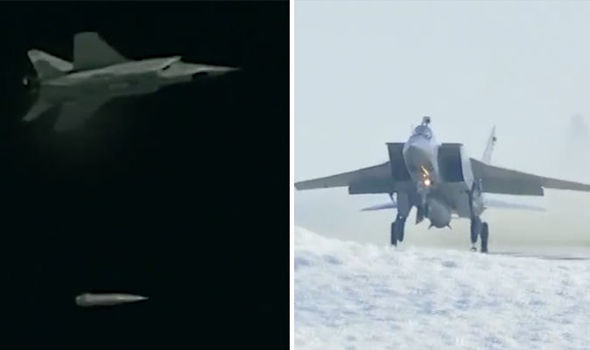 Russia launches hypersonic dagger missile in latest test of deadly arsenal