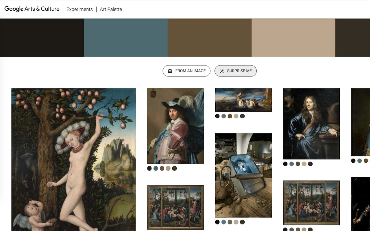 Google unveils artificial intelligence that can match your sofa cushions or children's drawings to the world's great paintings