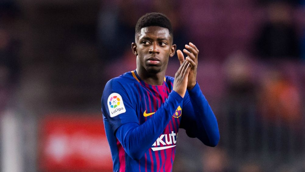 Coutinho, Valverde heap praise on improved Dembele