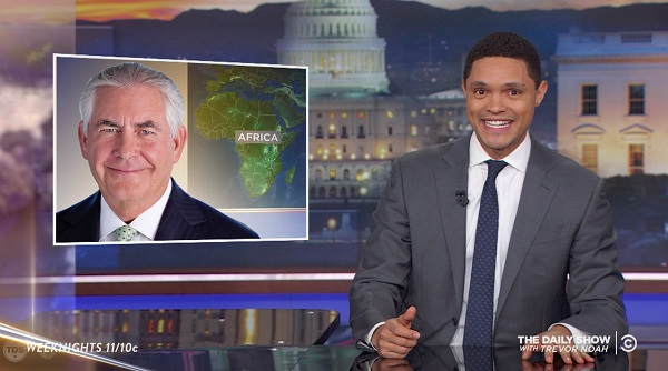 Late-Night Hosts Tee Off on Trumps Twitter Firing of Rex Tillerson