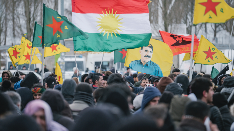 Kurds protest in Germany against Turkish govt, 3 arrested