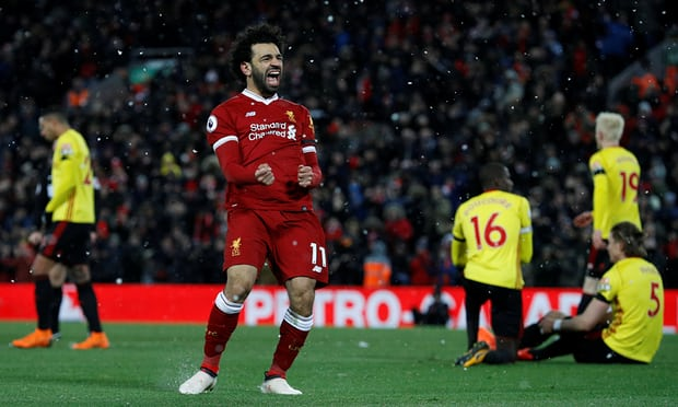Mohamed Salah hits awesome four as Liverpool romp past Watford