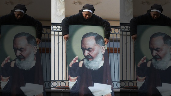 Pope goes to Italys south to honor popular saint, Padre Pio