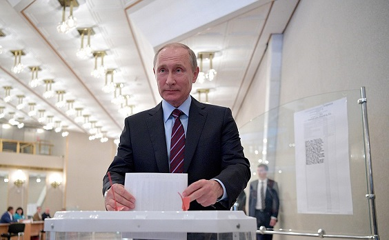Putin Wins Russia's Presidential Election: Exit Poll