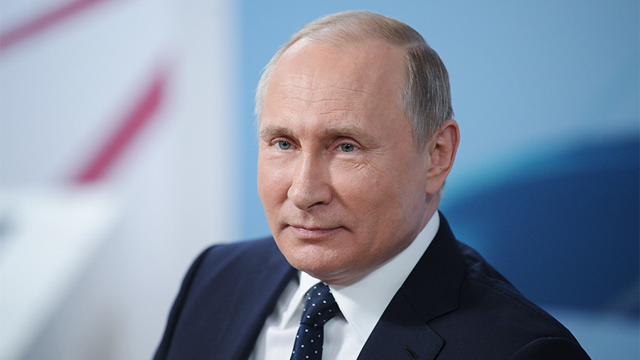 Vladimir Putin decisively re-elected as Russian president – preliminary results