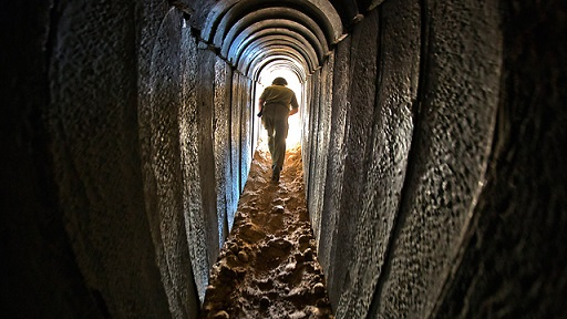 Israel says it destroys new Hamas tunnel network in Gaza