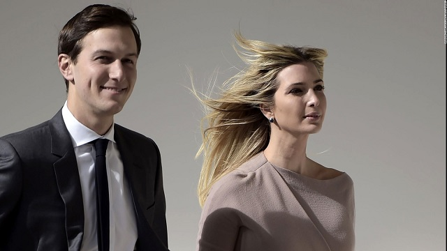 Engine failure forces Ivanka, Jareds helicopter to return to airport