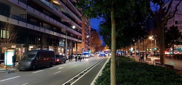Barcelona embassy hostage situation: Diplomat's wife held as police surround building
