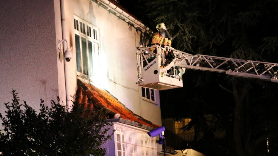 Turkish embassy in Denmark attacked with firebombs