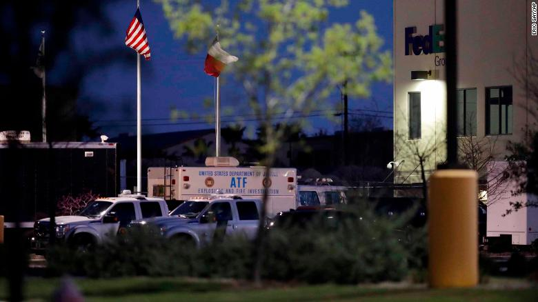 Two more package bombs explode in Texas