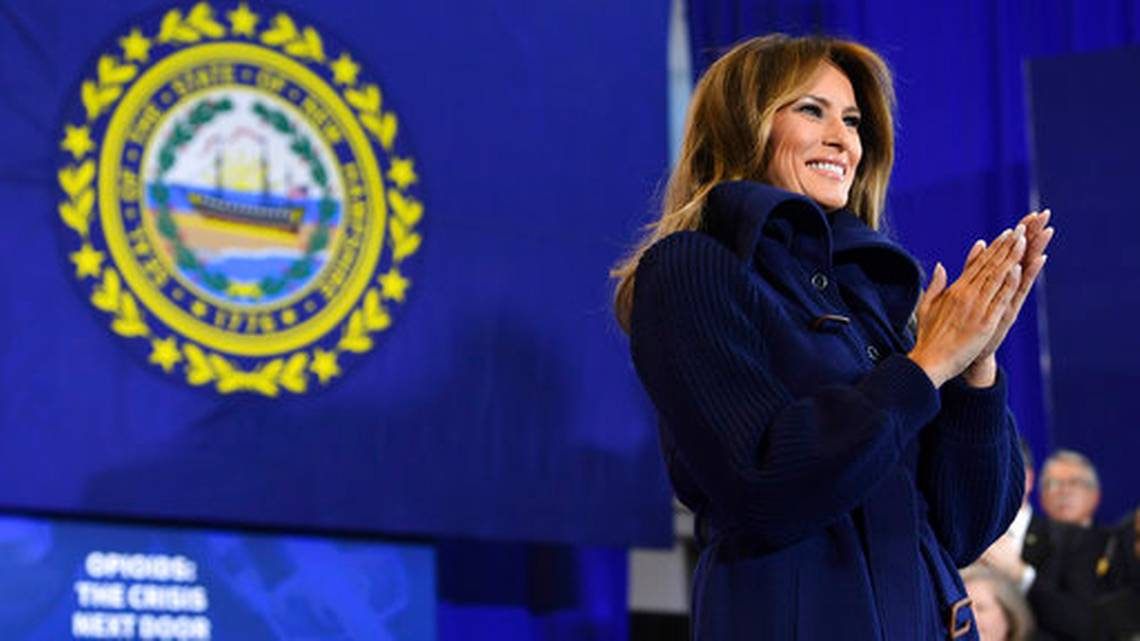 First lady to hold first public event on cyberbullying
