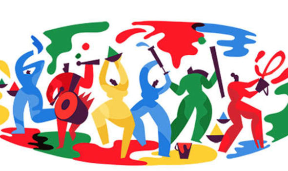 Holi Festival 2018: Google marks Festival of Colour with dramatic doodle