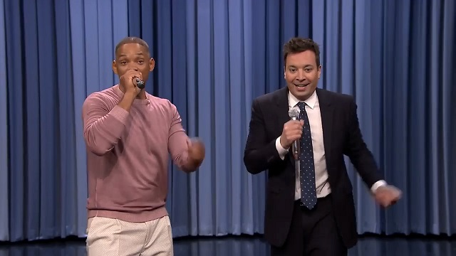 Watch Will Smith and Jimmy Fallon Perform the History of Sitcom Themes