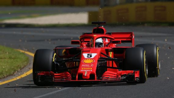 Vettel quickest in final Australian GP practice