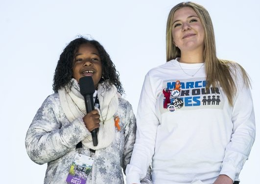 March for Our Lives: Martin Luther King Jr.'s  granddaughter has dream 'enough is enough'