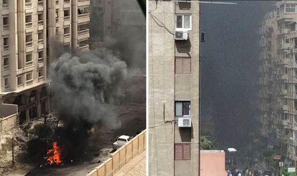 Car bomb EXPLODES - one dead and three wounded as Alexandria rocked by blast
