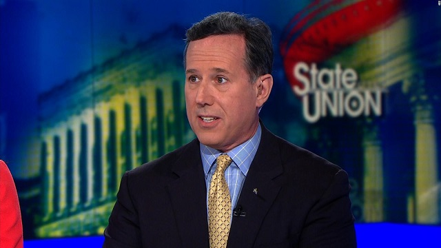 Santorum: Instead of calling for gun laws, kids should take CPR classes