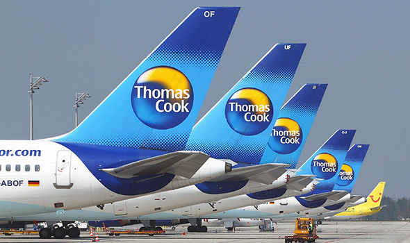 BREAKING: Five men arrested on Thomas Cook flight from Manchester to Las Vegas