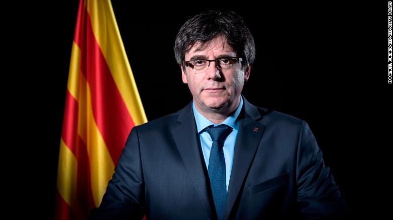 Catalonias ex-leader Carles Puigdemont detained in Germany, lawyer says