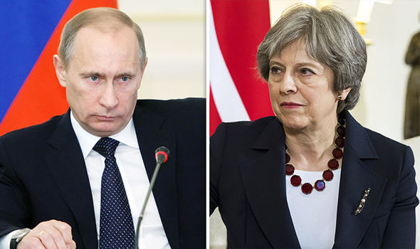 'Bordering on BANDITRY' Putin attacks UK as tensions SOAR over Russian spy poisoning