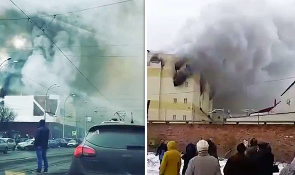 BREAKING: Four children dead and 10 injured as huge blaze rips through shopping centre