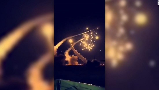 Saudi Arabia intercepts 7 missiles fired from Yemen, military officials say