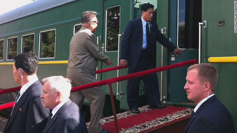Mystery train carries rumors about a Kim Jong Un visit to China