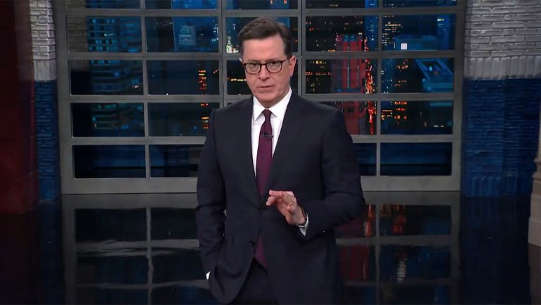 Stephen Colbert Says Stormy Daniels 60 Minutes Interview Felt Truer Than Trumps Election