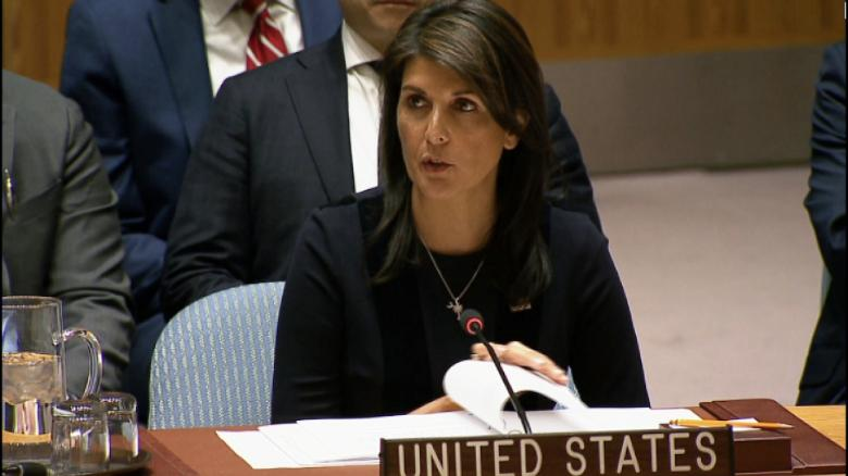 Nikki Haley berates colleagues over Syria: This should be a day of shame
