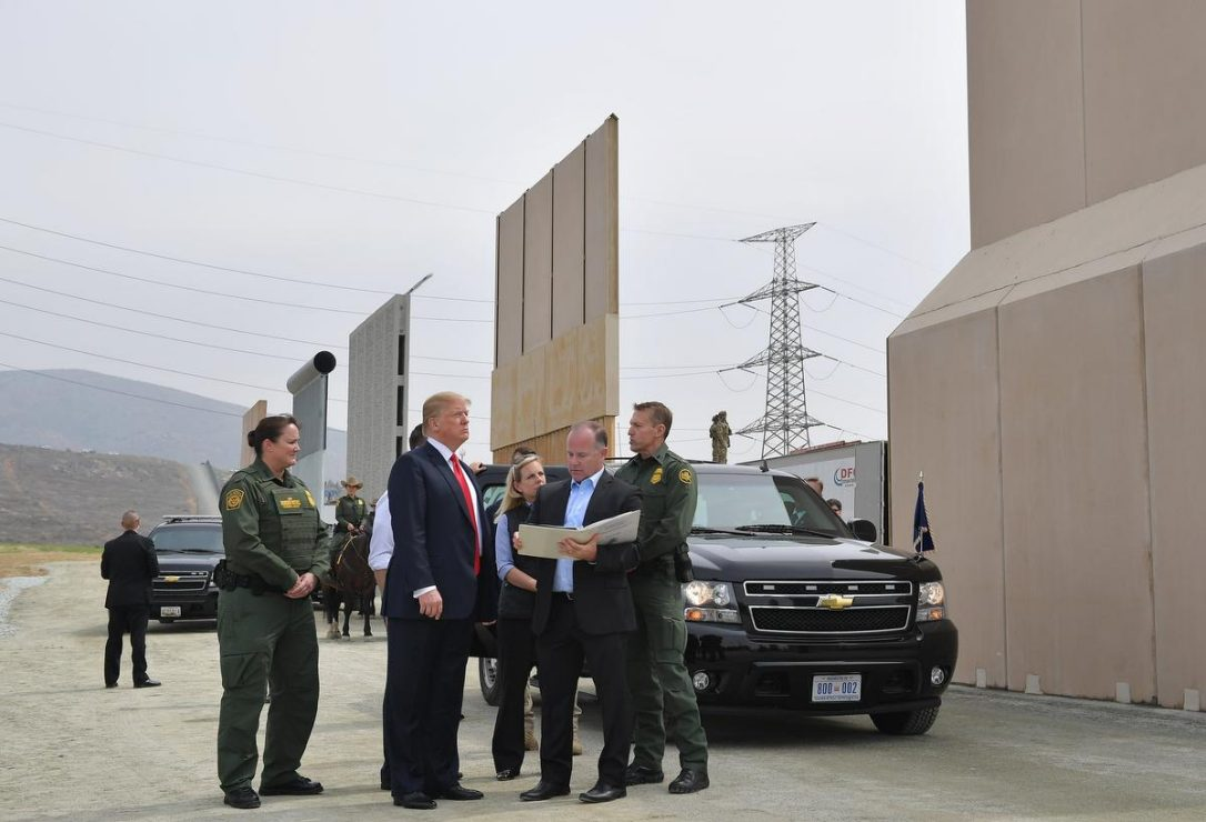 Trump is privately pressing for the military — not Mexico — to pay for his border wall