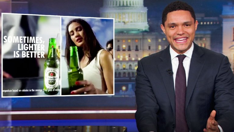 Trevor Noah Calls Out Heineken With Mock Campaign