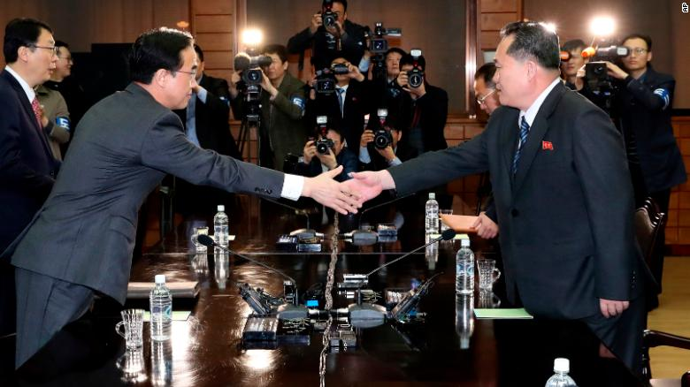 North and South Korean leaders to meet April 27 for first time in decade