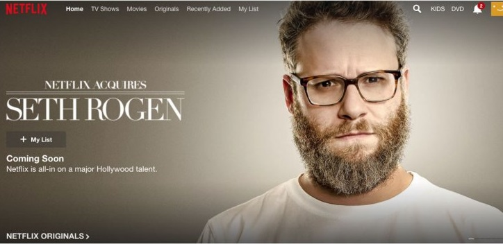 Netflix Acquires Seth Rogen in Comedy Special Stunt