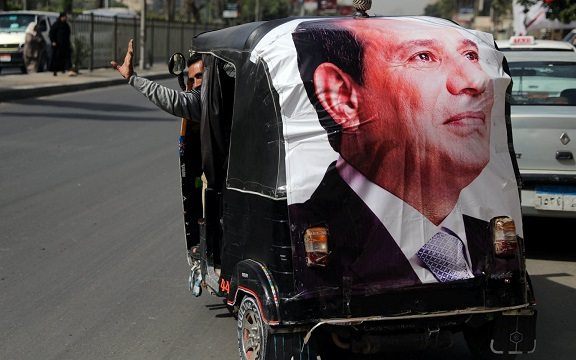 Abdel Fattah el-Sisi heading for landslide 90% victory in Egypt election